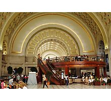 "Union Station Washington DC USA(""*Best Viewed Large*"") Photographic Print"