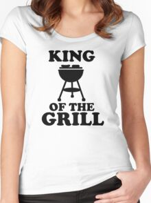 King of the grill Women's Fitted Scoop T-Shirt