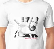 Keanu Reeves (Black and White) var1 Unisex T-Shirt