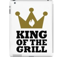 King of the grill crown iPad Case/Skin