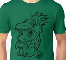 Cute Bunny Raptor Suit Unisex T-Shirt