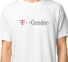 T-Gender - Mobile service inspired design. Classic T-Shirt
