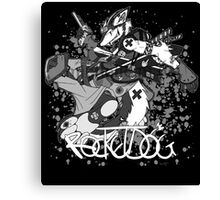 Rocketdog Canvas Print