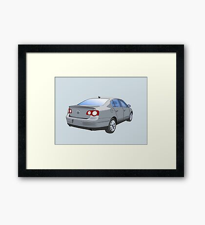Volkswagen Passat Framed Print
