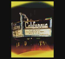 California marquee by Ellen Turner