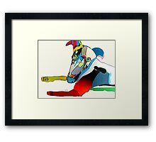 the greyhound  Framed Print
