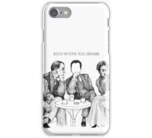Solo entre los demás iPhone Case/Skin