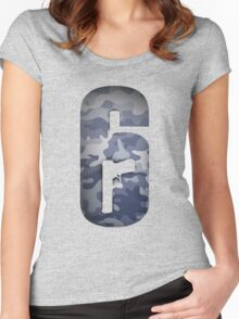 Rainbow Six Siege - Black Ice Women's Fitted Scoop T-Shirt