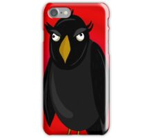Halloween - old raven  iPhone Case/Skin