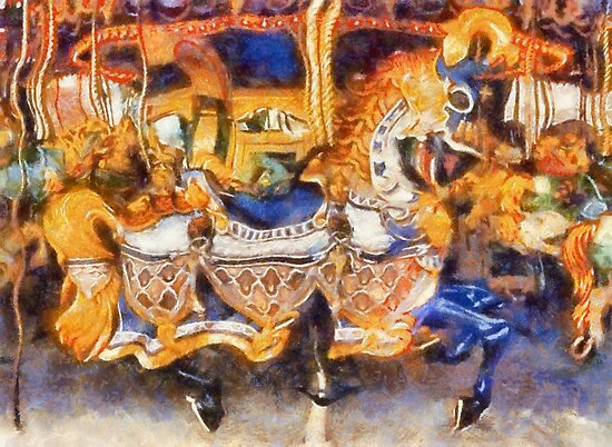Childhood Dreams II: Charge of the Light Brigade by Bunny Clarke