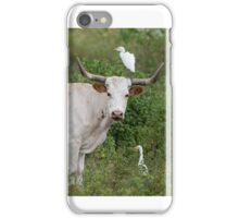 Bovine and Bird Buddies iPhone Case/Skin