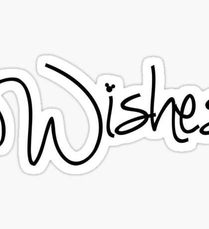 Wishes! Sticker