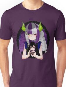 -Roxy and her Miako doll- Unisex T-Shirt