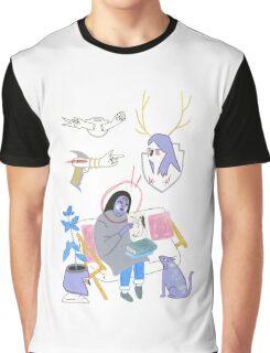 Aliens VS Humans Graphic T-Shirt