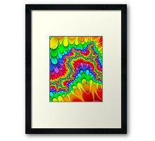 the win of colours Framed Print