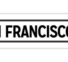 San Fransisco Lite Sticker