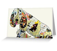 jazzberry hound  Greeting Card