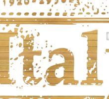 Italia Calorosa Sticker