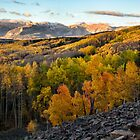 View from Ohio Pass road by Eivor Kuchta