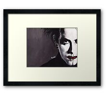 DISINTEGRATE - Robert Smith Framed Print