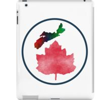 I Love Nova Scotia Canada iPad Case/Skin