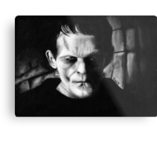 THE MONSTER of FRANKENSTEIN Metal Print