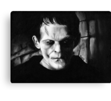 THE MONSTER of FRANKENSTEIN Canvas Print