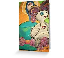 Little Dolly, Voodoo Child Greeting Card