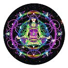 Light Worker Connections Mandala by FRANKEY CRAIG