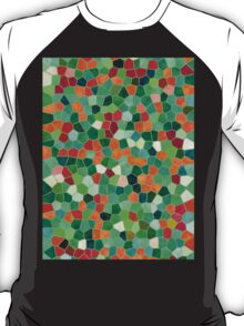 Mosaic Texture Stained Glass T-Shirt
