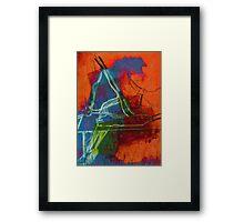 Coloured Legs V Framed Print