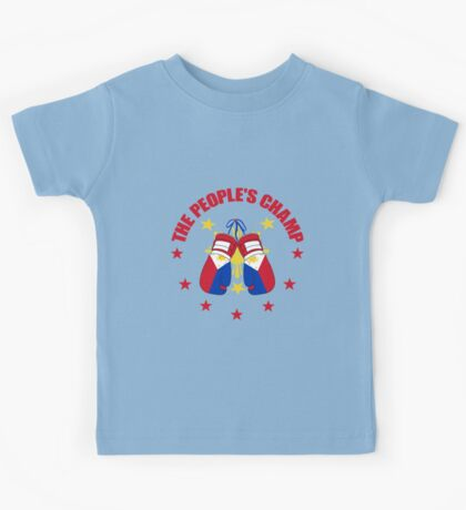 The People's Champ Boxing Kids Tee