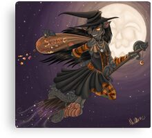 WitchyKitty Canvas Print