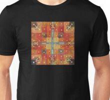 Last Rose, Gingko & Paperbark Maple - Abstract Watercolor by Dan Vera Unisex T-Shirt