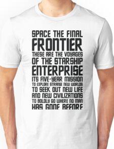 Star Trek Quote Unisex T-Shirt