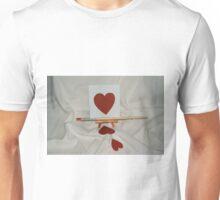 pintando corazón  Unisex T-Shirt