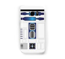 R Two Blue/White Samsung Galaxy Case/Skin