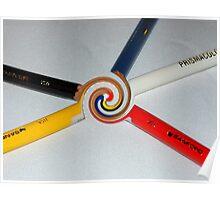 Colored Pencil Magic Poster