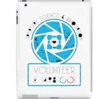 APERTURE SCIENCE AND INOVATION iPad Case/Skin