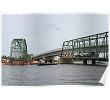 Removal of the Indian Sluice Bridge Poster