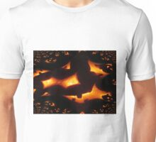 Halloween Pumpkins Abstract Unisex T-Shirt
