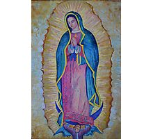 Our Lady of Guadalupe painting, Virgin of Guadalupe picture Photographic Print