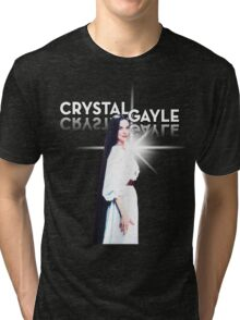 Crystal Gale - Reflection Tri-blend T-Shirt
