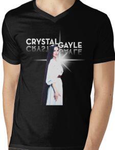 Crystal Gale - Reflection Mens V-Neck T-Shirt