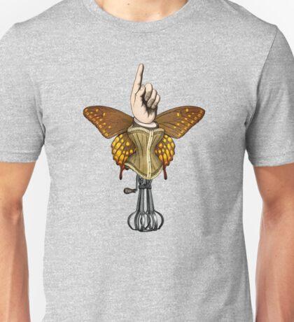 Butterhand Portrait Unisex T-Shirt
