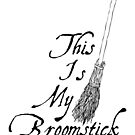 This is my broomstick by puppaluppa