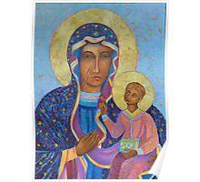 Black Madonna Poland, Black Madonna of Czestochowa, Our Lady of Czestochowa Poster