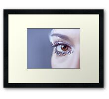 Jeweled Eye Framed Print