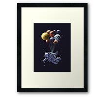 Space Travel Framed Print