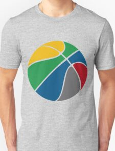 Basketball with FIBA official colors  T-Shirt